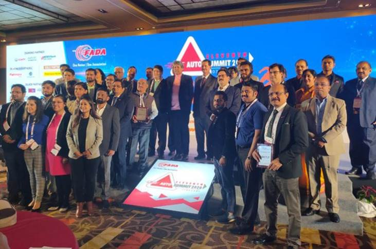 The top-performing dealers across India were recognised at the FADA Auto Summit 2020.