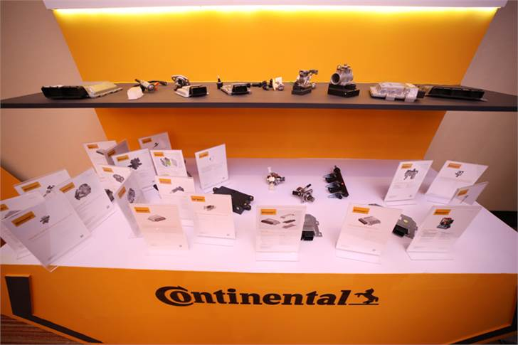 Continental's EFI system range for BS VI application includes integrated throttle body, solenoid-based fuel pumps, fuel injectors and ECUs.