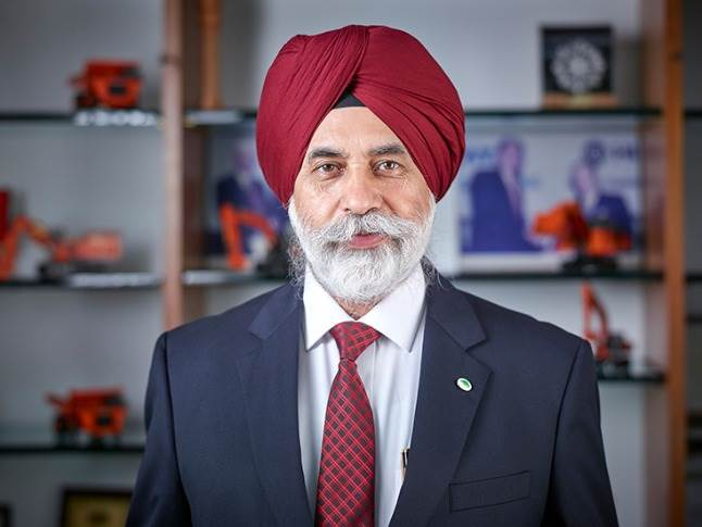 """Sandeep Singh: """"There may be a big slowdown in the (construction equipment) industry in the first quarter of this fiscal."""""""
