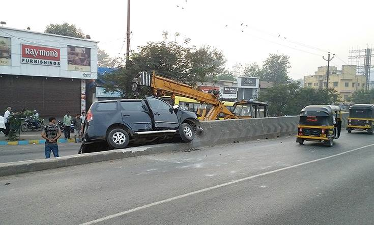 . In 2019, 151,113 people were killed and 451,361 were injured in road crashes in India.
