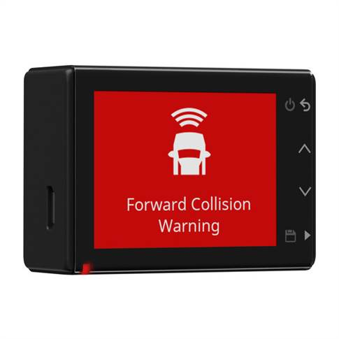 Part of Driver assistance system, can also detect probable collisions