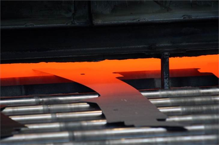 A sheet metal part made by hot stamping offers very high levels of tensile strength to be used in the main cabin frame.