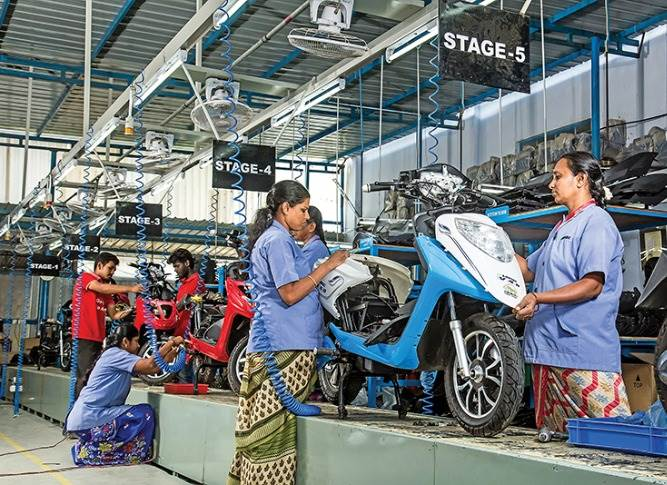 Ampere Vehicles' Coimbatore plant. New Rs 700 crore plant in Ranipet, Tamil Nadu will mark a fresh start given that Coimbatore posed its own challenges in efficiency as  well as the supply chain.