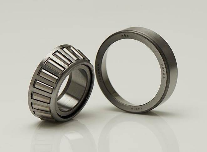 Tapered roller bearings generally used in pairs, they can support horizontal and vertical axial forces equally in either direction. They are found in wheel bearings to cope with large axial loads.