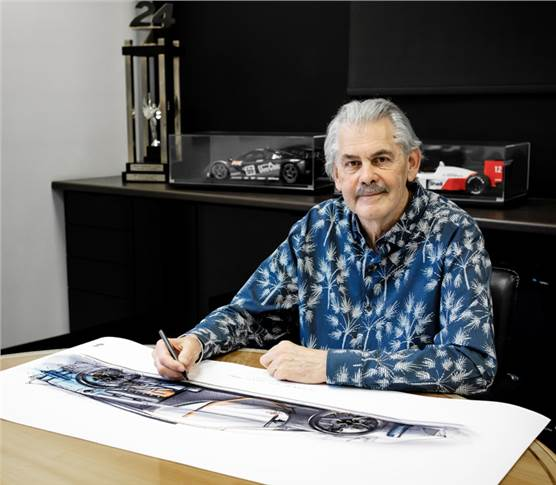 "Gordon Murray:""An unflinching dedication to lightweighting, highly-advanced active aerodynamics and world-leading standards of advanced engineering will ensure the T.50 rewrites the supercar rulebook"""