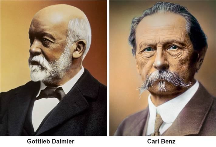 In 2019, Mercedes-Benz celebrates the birthdays of company founders Gottlieb Daimler and Carl Benz.