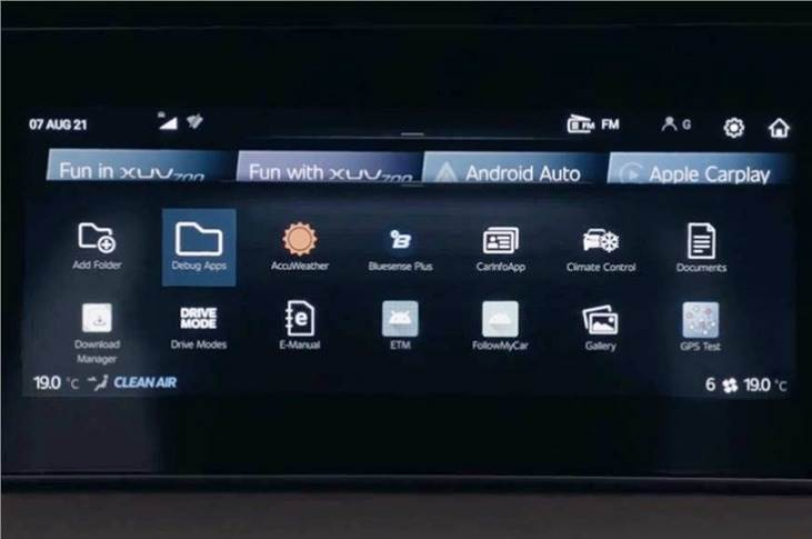 The XUV700 also gets a host of other features, including Android Auto and Apple CarPlay connectivity.