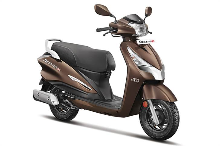 Hero's first attempt in the 125cc scooter market is the most affordable in its class.