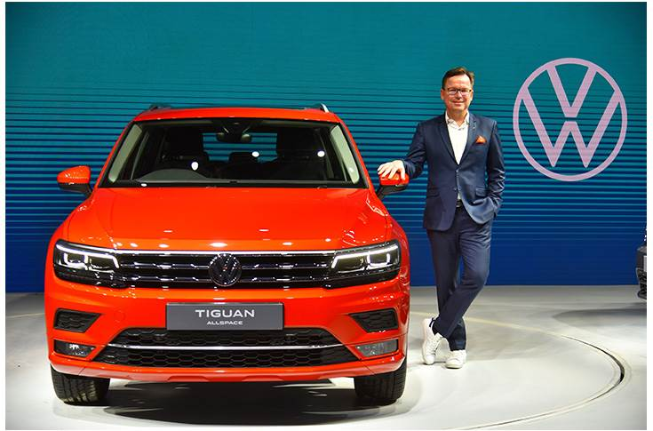 Volkswagen India plans 'four SUVs for the Indian market in the next two years'