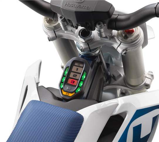 Husqvarna EE 5 has six different easy-to-select ride modes.
