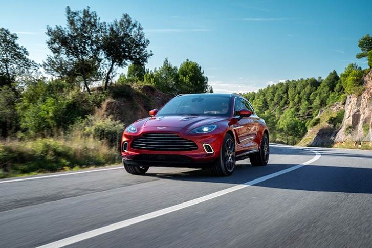 The all-new DBX is a model from the brand-new St Athan factory (in Wales) is designed for sales in the still-thriving luxury SUV market worldwide.