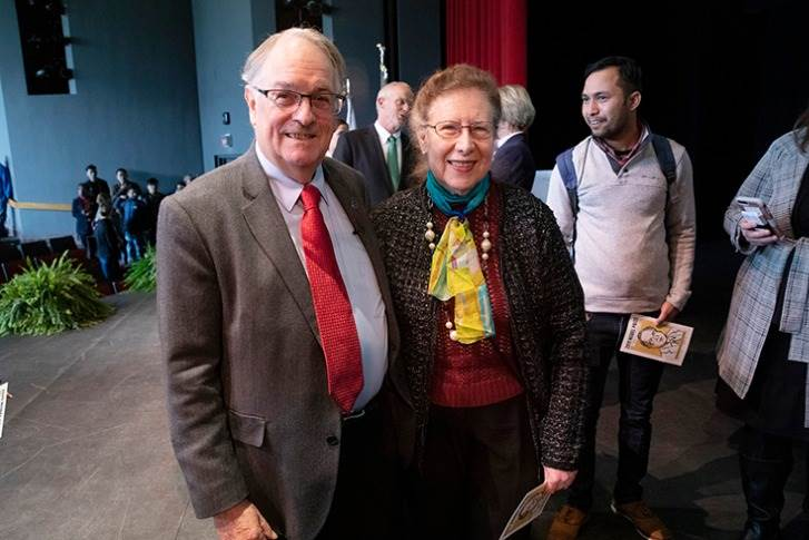 Dr Whittingham (seen here with wife Georgina) is not only the key figure in the history of the development of lithium-ion batteries but also the founding father of rechargeable li-ion batteries.
