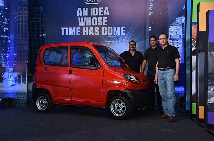 Bajaj Auto, which has sold 627 Qutes in the Indian market and exported 7,895 till now, launched the quadricycle in Maharashtra for Rs 248,000.