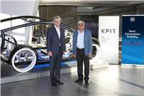 L-R Dr. Dirk Walliser, Head of Corporate R&D at ZF Group and Kishor Patil, CEO at KPIT Technologies.