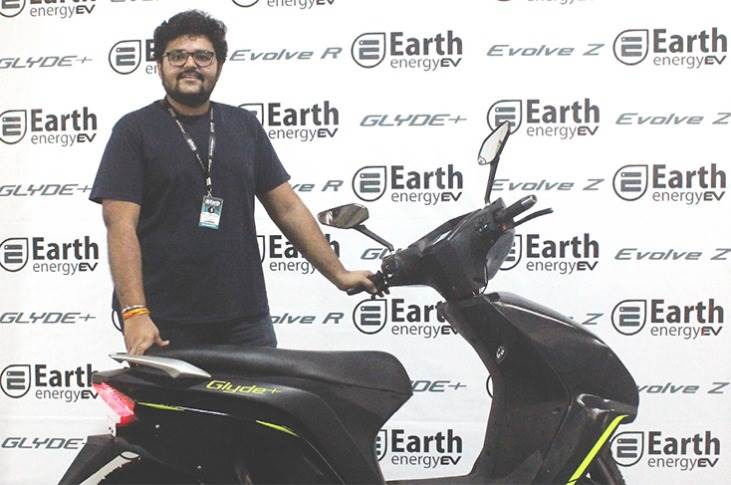 """Earth Energy EV's Rushii Senghani: """"What remains to be seen is how the doorstep deliveries to Ola's over 100,000 pre-orders pan out and how it manages the aftersales support for all of them."""""""