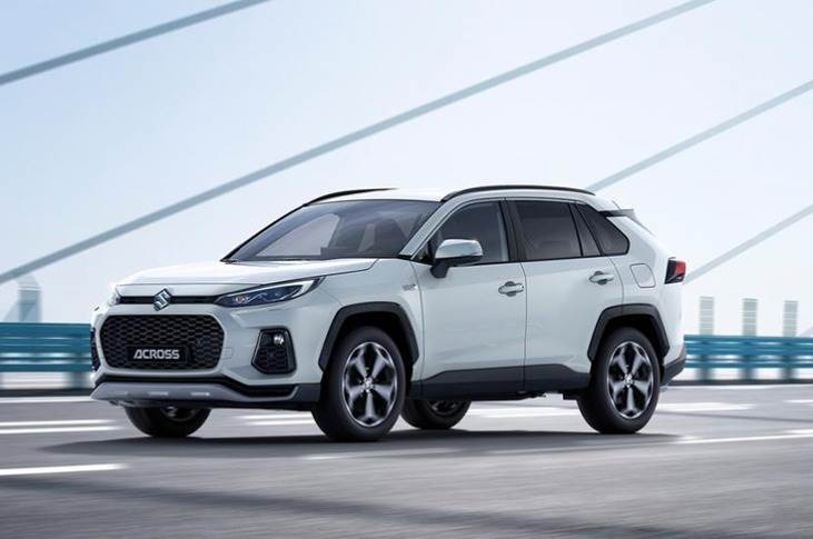 The SUV's electrified powertrain is carried over wholesale from the new RAV4 Plug-in Hybrid, and comprises a 175hp, 2.5-litre four-cylinder petrol engine mated to a pair of electric motors - one with 182hp/270Nm on the front axle and another with 54hp/121Nm at the rear - for a top speed of 180kph.