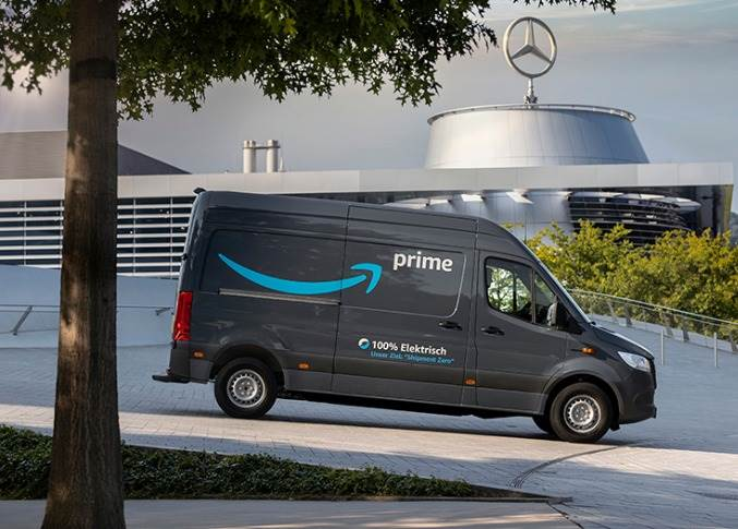 The eSprinter is a larger model than Mercedes-Benz's first zero-emission vehicle, the eVito (of which 600 have been ordered by Amazon).