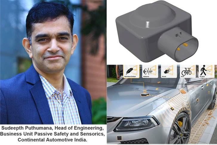 "Sudeepth Puthumana: ""The complete development of the contact sensor system (CoSSy) is our primary focus right now. We are confident of getting our first global customer project by 2021."""