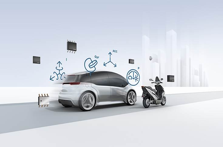 MEMS-Sensors (Micro Electro Mechanical Systems) for mobility solutions.