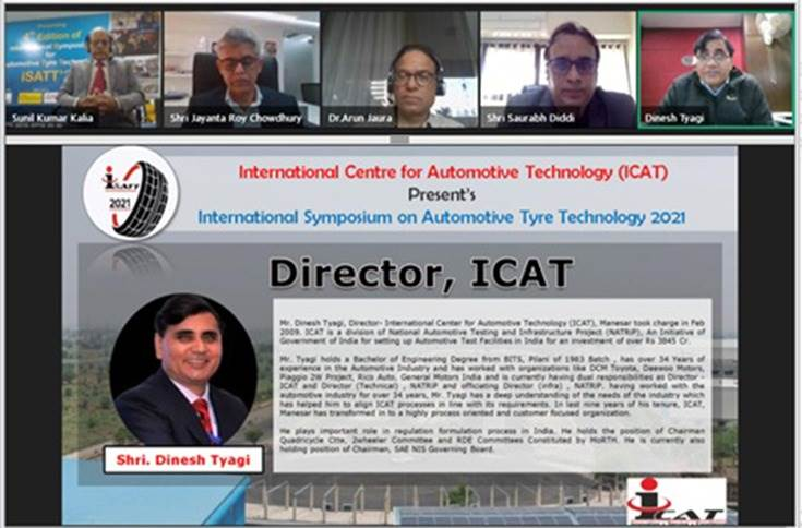 Spotlight on ICAT's tyre testing facilities as an example of 'Atmanirbhar Bharat' as it was indigenously designed and developed with all technical accreditations from NABL (ISO:17025) and approval of BIS.