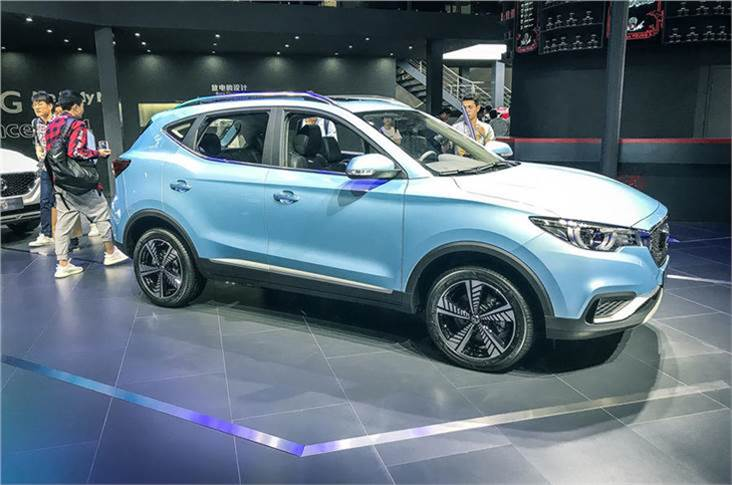 On November 16, 2018, MG took the wraps off its new all-electric EZS SUV at the Guangzhou Motor Show 2018 in China.