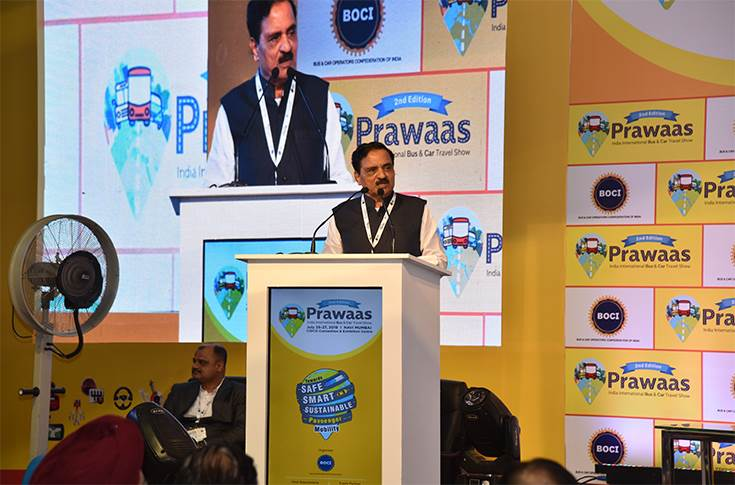 Diwakar Narayan Raote, minister, Ministry of Transport and Khar land development, Government of Maharashtra