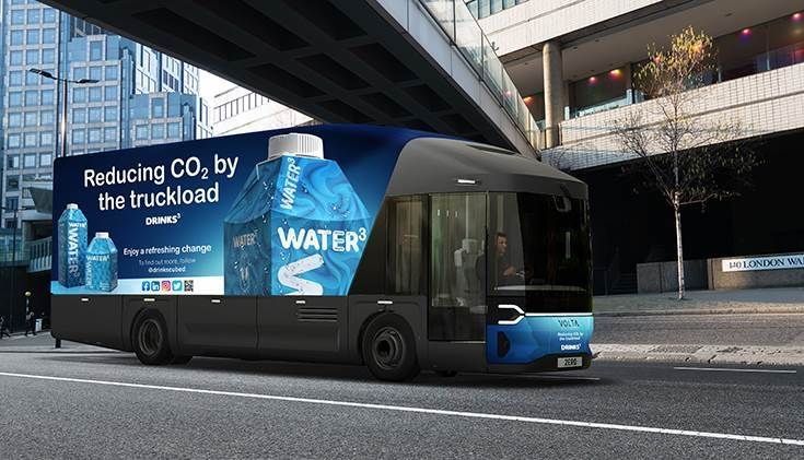 Drinks Cubed, the London-based sustainable drinks brand, has signed a multi-million-pound deal for the supply of a fleet of Volta Zero vehicles into their distribution operations between 2022 & 2023.