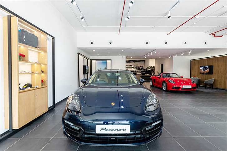 The opening of the new showroom marks the launch of the new Panamera in Mumbai.