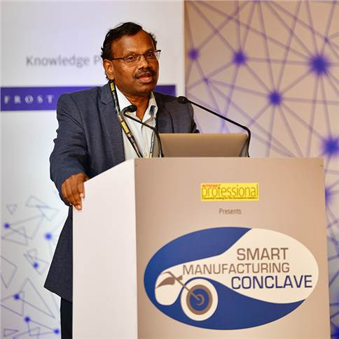 "Bala Pachyappa, CTO, EMF: """"The vehicle is moving from mechanical to electronics to digital. This will replace the bill of materials of a vehicle by 90 percent """