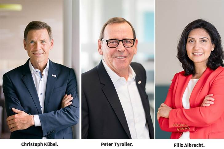 Christoph Kubel (60) and Peter Tyroller (62), members of the Board of management of Robert Bosch GmbH, will be retiring on December 31, 2021. Christoph Kubel will be succeeded by Filiz Albrecht (48).
