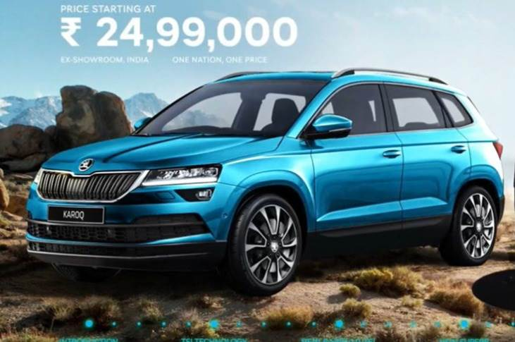 The Skoda Karoq has been brought to India as a CBU and priced at Rs 24.99 lakh (ex-showroom).