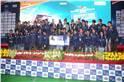 Winners of the best mBAJA team of BAJA SAE India, Government College of Engineering from Pune