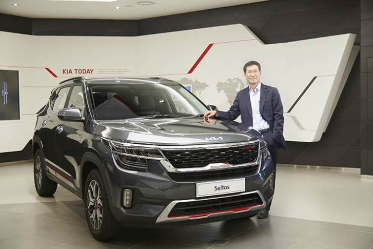 """Kia India MD Kookhyun Shim: """"To significantly reduce the delivery times on our products, we will be working round the clock at our plant very soon."""""""