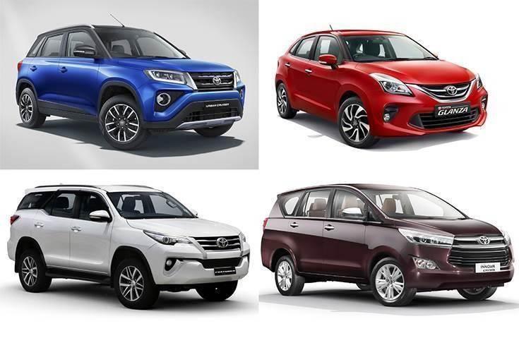 Cumulative sales of the two Toyota-Suzuki models – Glanza hatchback and Urban Cruiser SUV – have crossed the 50,000-unit mark till end-January 2021. Fortuner and Innova Crysta remain strong contributors to monthly numbers.