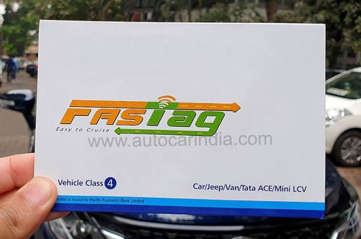 FASTag is a passive device that is fixed to a car's windscreen; it uses radio frequency identification (RFID) to enable the FAStag to make cashless toll payments without requiring the vehicle to stop.