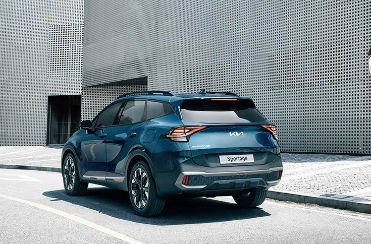 New Sportage high on safety and features passive and active high-tech systems including Kia's suite of ADAS systems.