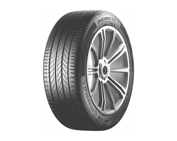 The UltraContact UC6 tyres are available for rims with diameters from 14 to 17 inches, covering a wide range of larger passenger car vehicle models.