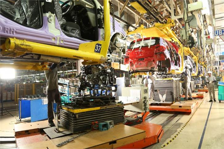 Tata Motors is seeing improved availability position as vendors come on stream in China. With some flexibility in mix (models, trim levels), current visibility protects production volumes up to mid-March.