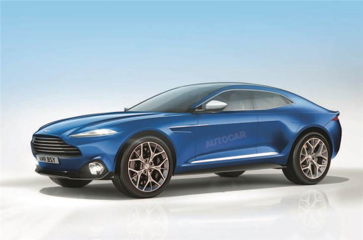 How we think the Aston Martin DBX will look