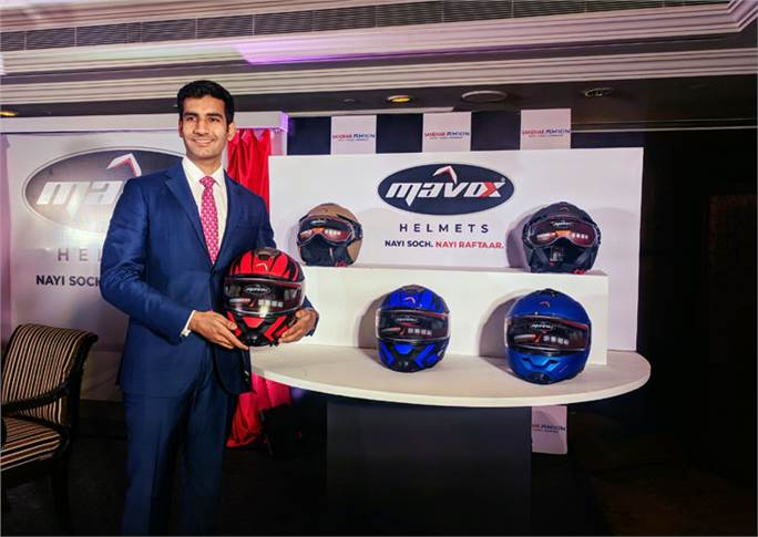 "Ayyushman Mehta, MD, Sandhar Amkin Industries: ""We will definitely command a premium by bringing in some sort of reliability and an assurance on safety. We want to offer reliable and safe helmets."""