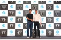 Rajiv Bajaj, MD, Bajaj Auto India and Nick Bloor, CEO of Triumph Motorcycles announce strategic non-equity partnership