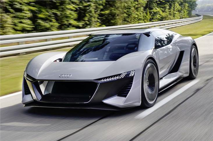 "The rakish PB18 e-tron was created as a vision for the ""high-performance supercar of tomorrow"""