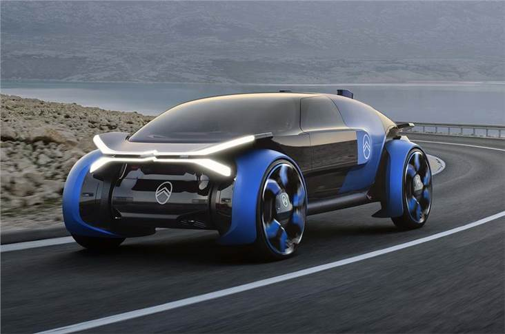 Large wheels are among forward-thinking concept