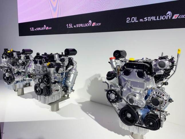 In an effort to show it has embraced petrol engine techy, Mahindra, which is keen to shed its image of being a diesel-driven automaker, showcased its new BS VI-ready range of mStallion turbo petrols.