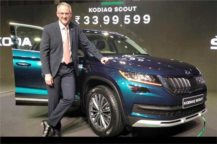 Zac Hollis, director – sales, service and marketing, Skoda Auto India