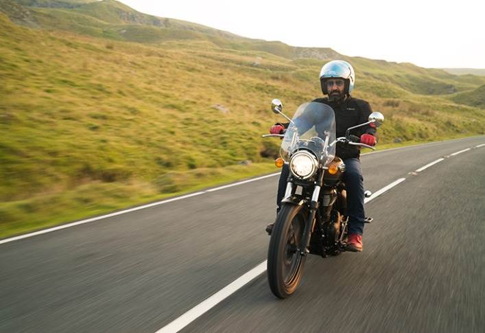 """Siddhartha Lal, MD, Eicher Motors: """"The Meteor 350 is a supremely refined, easy and accessible cruiser. """""""