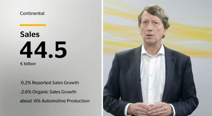"""Wolfgang Schäfer, CFO, Continental: """"The economic environment will remain challenging in 2020."""""""