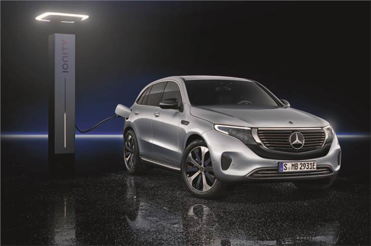 The new model uses an upgraded version of the GLC's cabin...