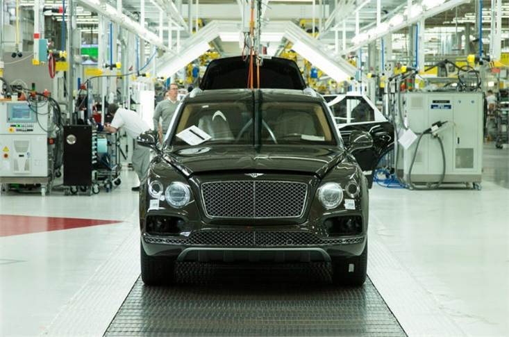 Bentley says it uses more British parts than any other firm