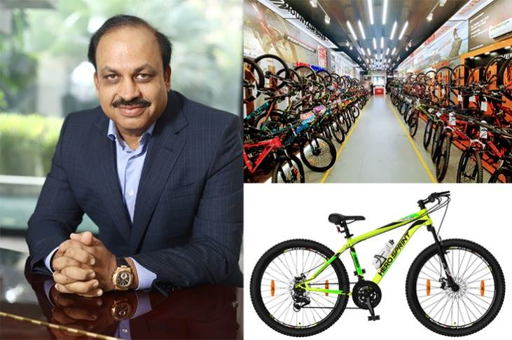 """Pankaj Munjal: """"We would like to request the government to make cycling a major element of its pollution-fighting efforts. Lowering GST to 5% from the current 12% can help make cycles more affordable."""""""